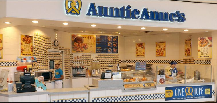Auntie Anne's Survey